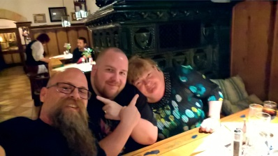 Munich with the scripting wife and Jeff